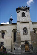 Південна вежа Всесвятського костелу монастиря бенедиктинок