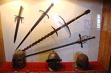 Средневековые доспехи и оружие Збаражского замка