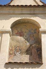 Кіот в'їзної брами бенедиктинського монастиря