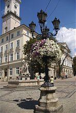 Южный угол Львовской ратуши