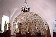 Культовая скульптура Збаражского замка