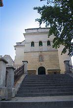 Вежа над бабинцем Сніжнянського храму у Львові