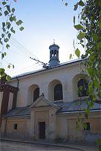 Північний фасад церкви Матері Божої Неустанної Помочі у Львові