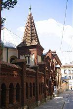 Північна частина Сніжнянського костельного комплексу у Львові
