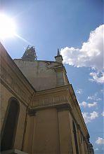 Северный фасад костела Непорочного Зачатия Девы Марии во Львове