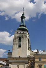 Северный фасад львовского монастыря бенедиктинок