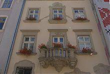 Балкон влюбленных Мазанчевской каменицы во Львове