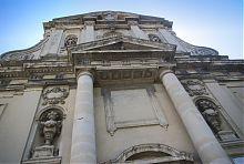 Портал центрального входа Сретенского костела во Львове