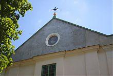 Фронтон львівського Миколаївського храму