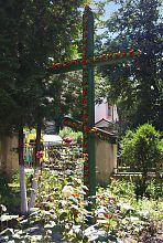 Пам'ятний православний хрест Миколаївської церкви