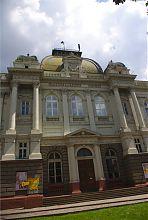 Здание бывшего Промыслового музея во Львове