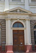 Портал центрального входа Национального (бывший Промысловый) музея во Львове