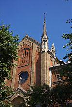 Центральный фасад львовского храма Иоанна Златоуста