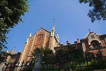 Южный корпус львовского монастыря францисканок