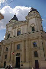 Колишній Троїцький костел тринітаріїв у Львові
