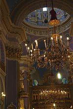 Внутренний интерьер львовской Преображенской церкви