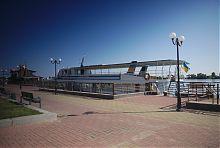 Пасажирський причал черкаського річкового порту