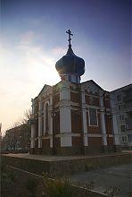 Северный фасад Владимирского храма Павлограда
