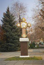 Памятный крест павлоградского Спасского собора