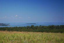 Дніпро в районі Стецівки (Черкаська область)