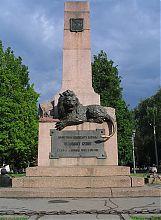 Пам'ятник захисникам Полтави і коменданту Келіну