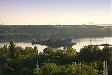 Острів Хортиця на Дніпрі