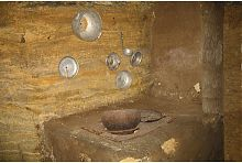 Піч в одеських катакомбах