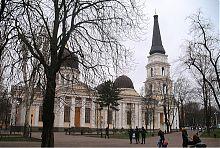 Северный фасад Спасо-Преображенского собора Одессы