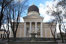 Восточный фасад Спасо-Преображенского собора Одессы