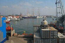 Військовий мол Одеського порту