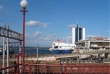 Новий мол в Одеському порту