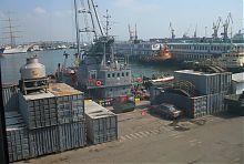 Вантажний причал одеському порту