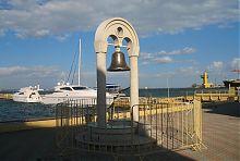 Морський дзвін на молі Одеського порту