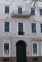 Ризалит центрального фасада дома Золотарева в Одессе