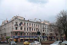 """Торгово-гостиничный комплекс """"Пассаж"""" в Одессе"""
