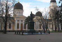 Монумент генерал-губернатору Бессарабии графу Михаилу Воронцову