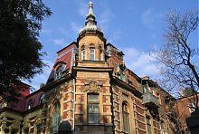 Угловой эркер дома Венштейна в Одессе