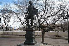 Хосе де Рібас. Пам'ятник в Одесі