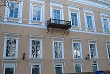 Перша будівля банкірського дому Ефруссі на одеському Приморському бульварі