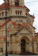Портал центрального входа лютеранской кирхи в Одессе