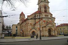 Неф з контрфорсами одеської Свято-Павлівської кірхи