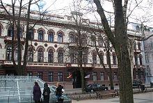 Центральный фасад Лондонской гостиницы в Одессе