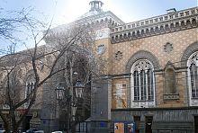 Центральный фасад Одесской филармонии