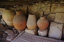 Глиняные сосуды (экспонаты античного отдела Херсонеса)