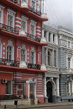 Північний кут Гагарінського прибуткового будинку в Одесі