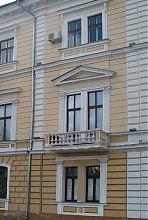 Кутовий ризаліт будинку Маразлі в Одесі на Приморському