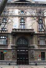 """Центральний вхід банку """"Порто-франко"""" в Одесі"""
