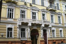 Парадный фасад доходного дома Шульца в Одессе