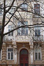 Центральний еркер будинку Таїрова в Одесі