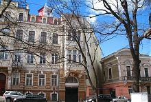 Північно-західний кут будинку Лілії Бродської в Одесі